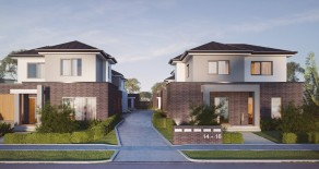 Boutique block of 6 brand new townhouses in Boxhill