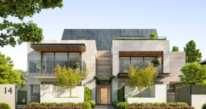 Small complex of apartments in Malvern East