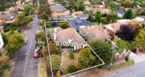 Land with permit in Camberwell